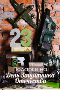 подарки модель самолёта патонташ чашка пистолет 23 февраля