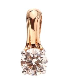 Золотой подвес с бриллиантом