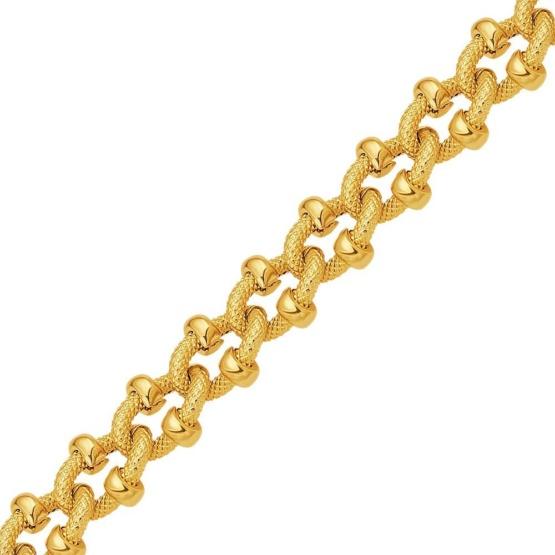Золотая цепь 750 пробы